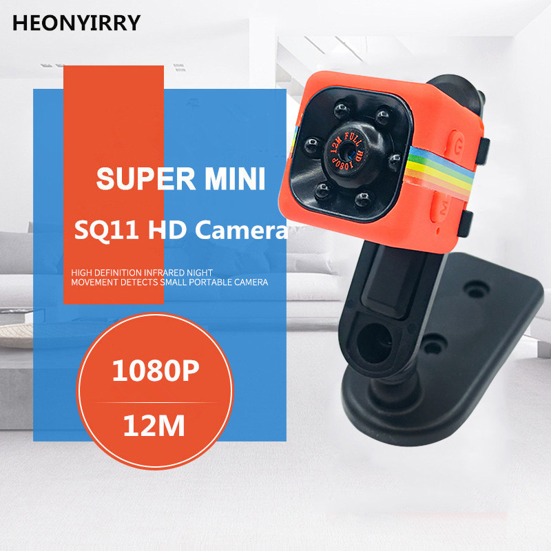 Multifunction Mini Camera SQ11 SQ12 HD 1080P Camcorder HD Night Vision Mini Camera Aerial Sports Mini DV Voice Video Recorder цена