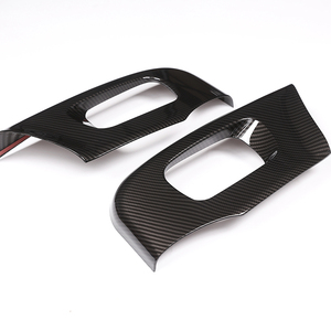 2 Pcs For Land rover Discovery 5 L462 LR5 2017-18 Range Rover Velar RR Sport 2018 ABS Car Seat Side Cover Frame Trim(China)