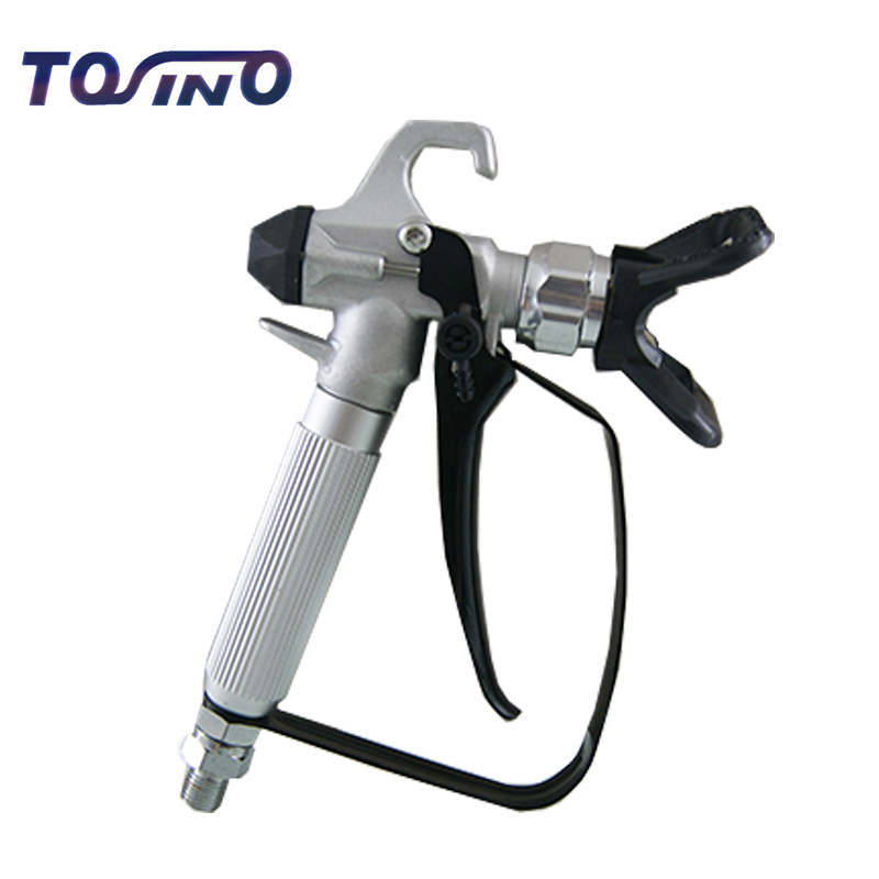 цена на Professional High Pressure Airless Spray Gun paint straight shank 3600 PSI,Heavy-duty Suit for painter decorator