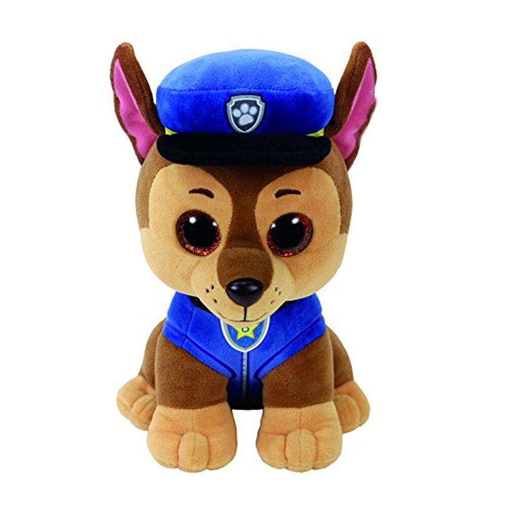 Ty Beanie Boos Blue Cap Dog Plush Toy Animal Doll Name 6
