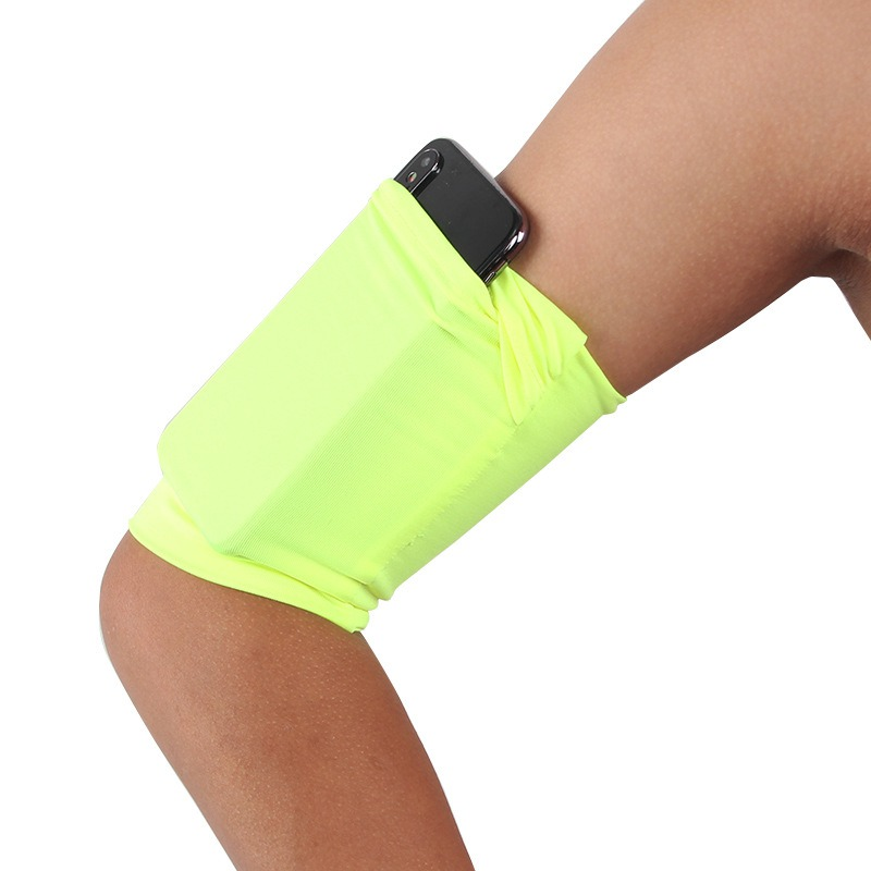Sportswear Cell Phone Bag Armband Outdoor Running Universal Phone Case Bag Hight Elastic Breathable Jogging Cellphone Arm Band