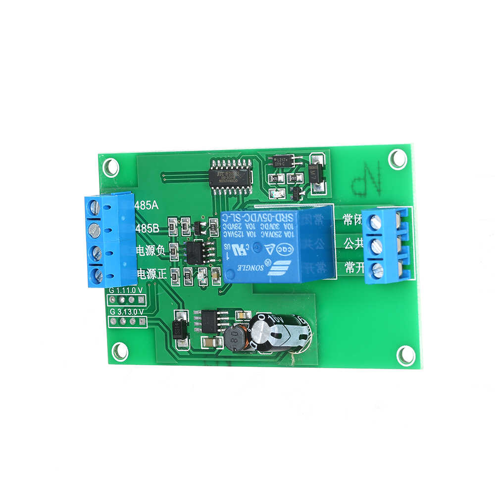 DC 7 V ~ 30 V RS-485 Controller Modul 485 Serial Port Converter 485 Adapter Driver On/Off papan Chip Tunggal