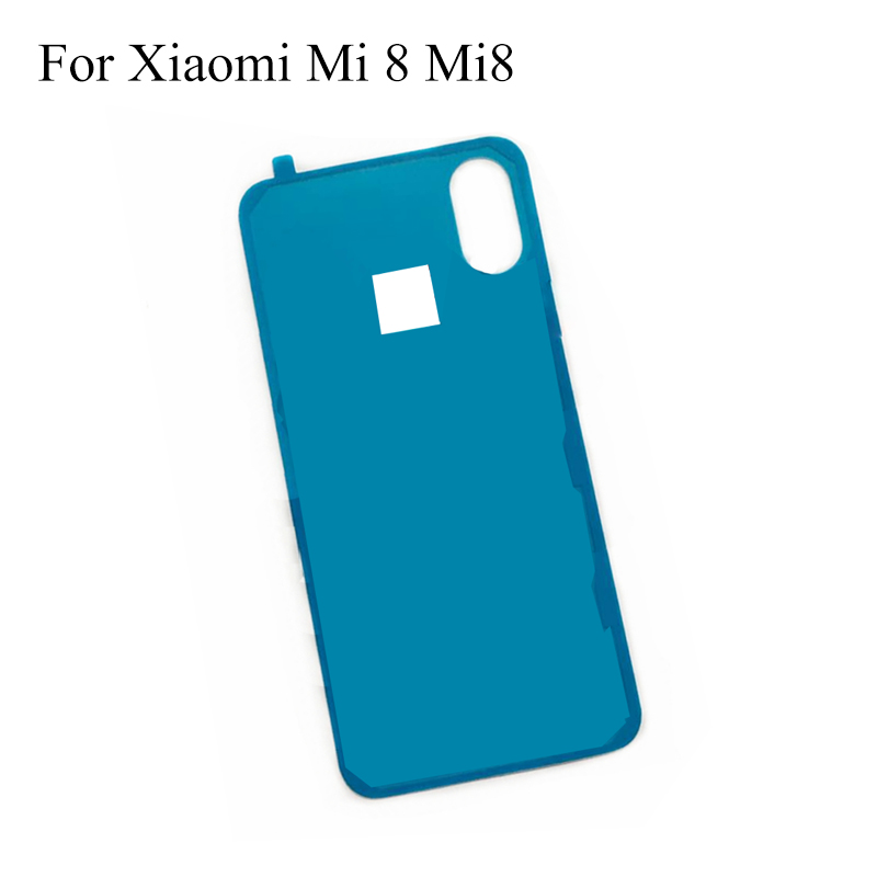 2PCS For Xiaomi Mi 8 Mi8 Back Battery Cover Bezel 3M Glue Double Sided Adhesive Sticker Tape  For Xiaomi Mi 8 Mi8 Repair Parts