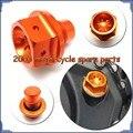 CNC Add oil screw Engine Case Cover Screws Plug Bolts for DUKE 125 200 2011 2012
