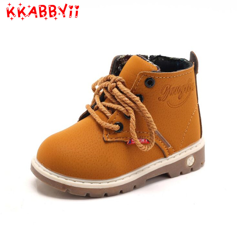 Waterproof Kids Snow Shoes For Girls Boys Winter Boots Children Brand Rubber Ankle Plush Flat Soft bota infantil