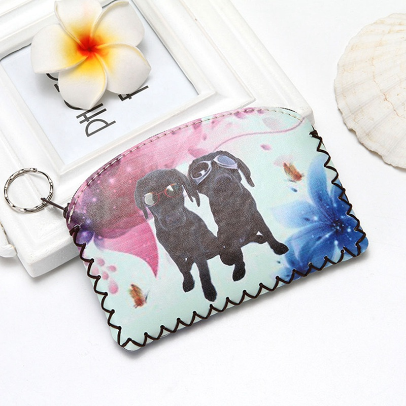 Humorous M298 Cartoon Coin Purses Lucky Cat 5 Style Color Hasp Zero Wallet A Cat That Brings You Wealth Handmade Embroidery Bag Luggage & Bags