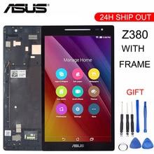 Pantalla LCD para Asus Zenpad 8,0 Z380 Z380KL Z380CX Z380CX Z380C Z380M P024 + MONTAJE DE digitalizador con pantalla táctil con marcoz380kl touchtouch screen for asustouch screen 8 inch