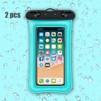 Hyleton Floating waterproof bag case Universal Mobile Phone Bag Swimming Case Airbag Pouch for iphone sumsung huawei xiaomi