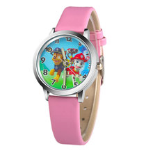 Kids Watches 3D Anime Cartoon Dog Patrol Brigade