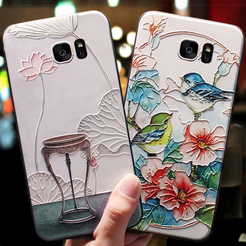YueTuo 3d Shockproof coque,cover,case For Samsung Galaxy S7 S 7 / S7 Edge s7edge Origina ...