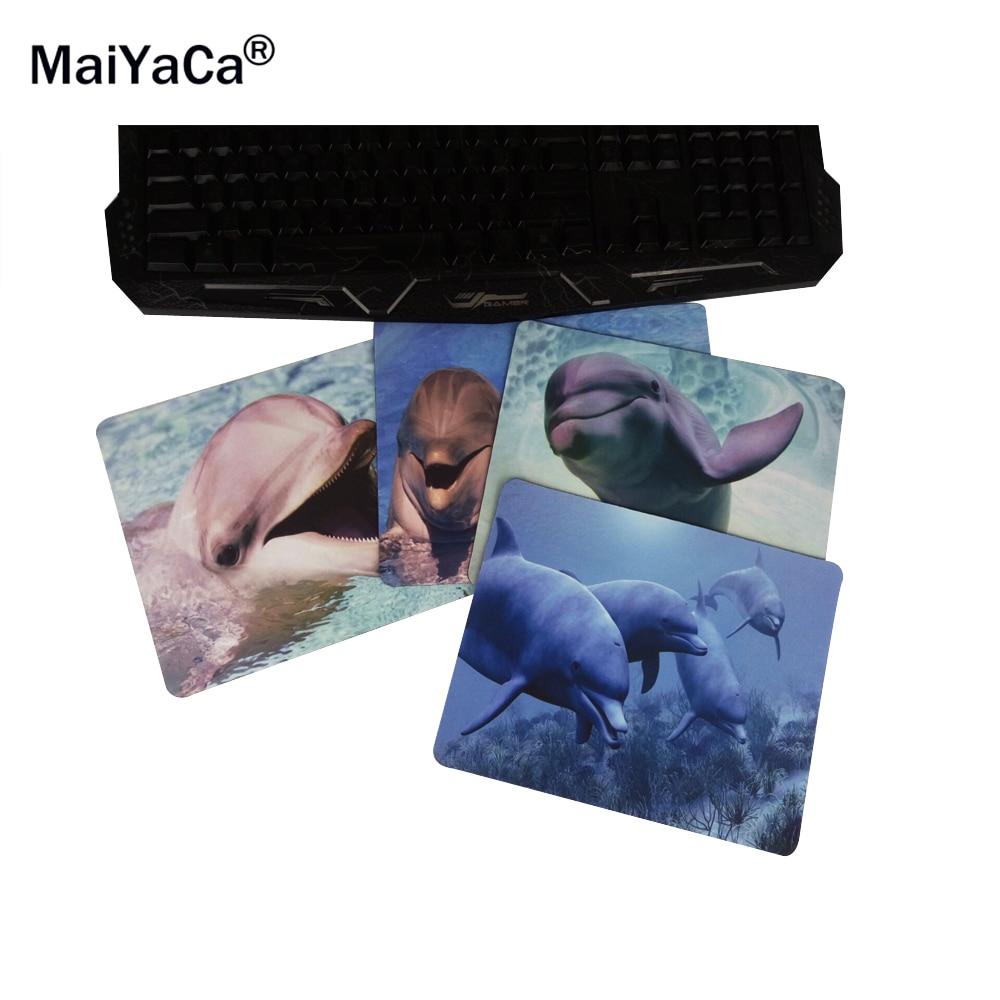 MaiYaCa-delfiinit meren alla Uusi kokoinen hiirimatto kumipatruuna 18 * 22cm ja 25 * 29cm