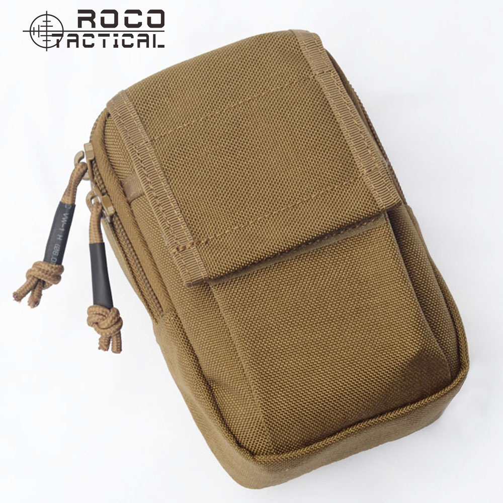 ROCOTACTICAL Wasserdicht EDC Militär Sport Taille Packs aus Cordura Nylon Geld Telefon Organzier Taktische Wandern Tasche