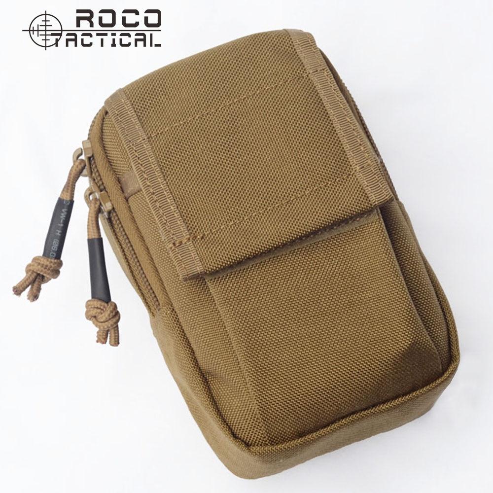 ROCOTACTICAL Wasserdicht EDC Militär Sport Taille Packs aus Cordura Nylon Geld Telefon Organzier Taktische Wandern Tasche