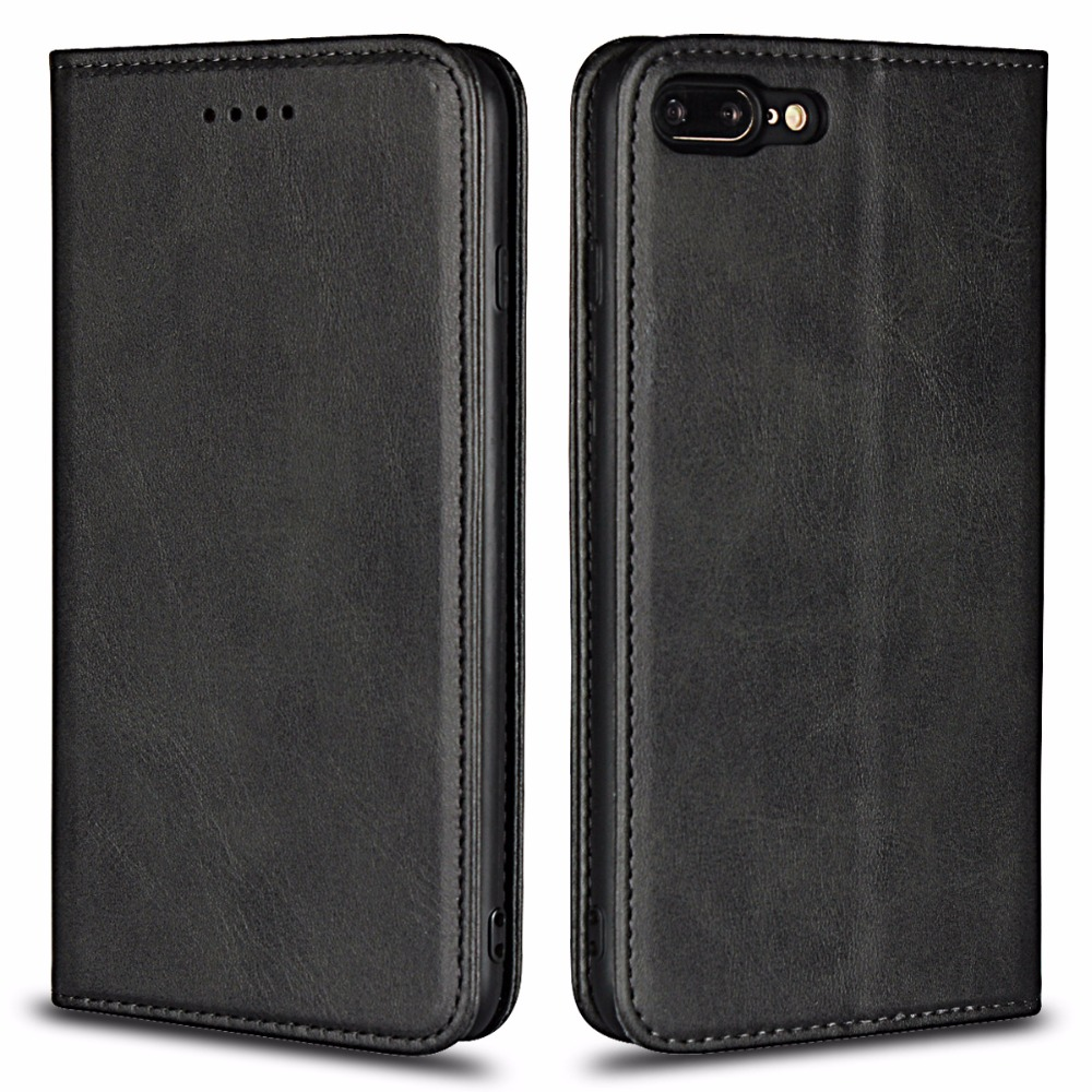 Luxury Originality For iPhon X Cases Calf Stripe Card Leather Sheath Case For iPhone 6S 8 7 Plus Protective phone case