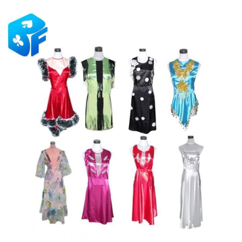 Livraison gratuite changement rapide de vêtements changement de vêtements avancé dans un deuxième vêtements personnalisés tours de magie accessoires de magie