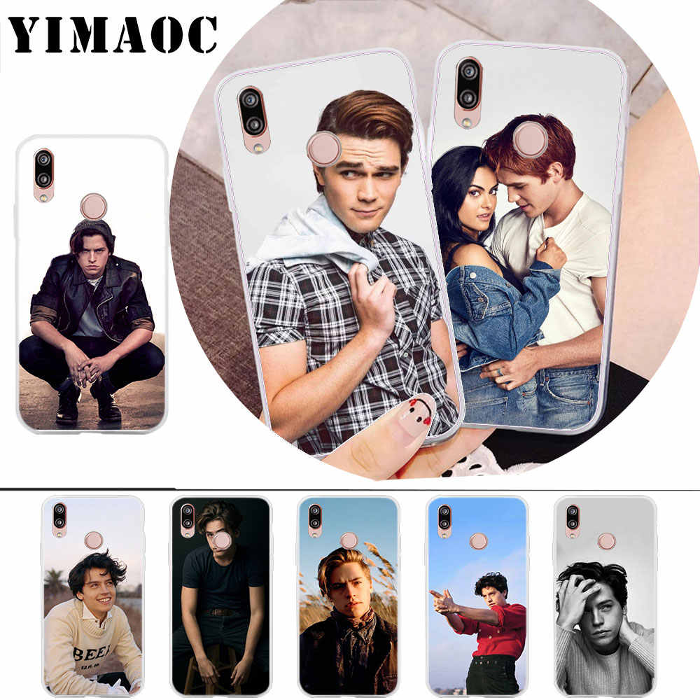YIMAOC American TV Riverdale Cole Sprouse Soft Case for Huawei Honor 8 8X 8C 9 10 lite 6A 7A Pro 7C 7X Cover