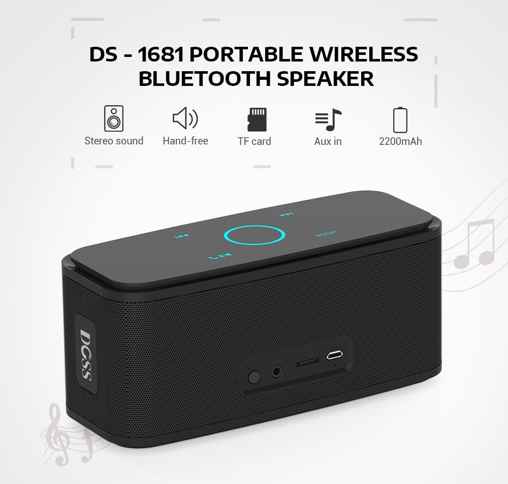 DOSS DS1681 SOUNDBOX BLUETOOTH SPEAKER 6