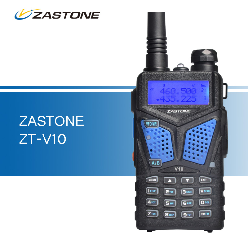 Zastone ZT V10 Walkie Talkies VHF 136 174 UHF 400 520mhz Professional Two Way Radio Ham