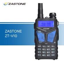 Zastone ZT-V10 рации УКВ 136-174 UHF 400-520 мГц профессиональной двухстороннее радиолюбитель CB радио трансивер для охоты