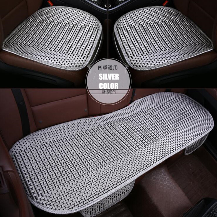 car accessories car seat cover ice silk auto seat mat breathable material and comfortable. Black Bedroom Furniture Sets. Home Design Ideas