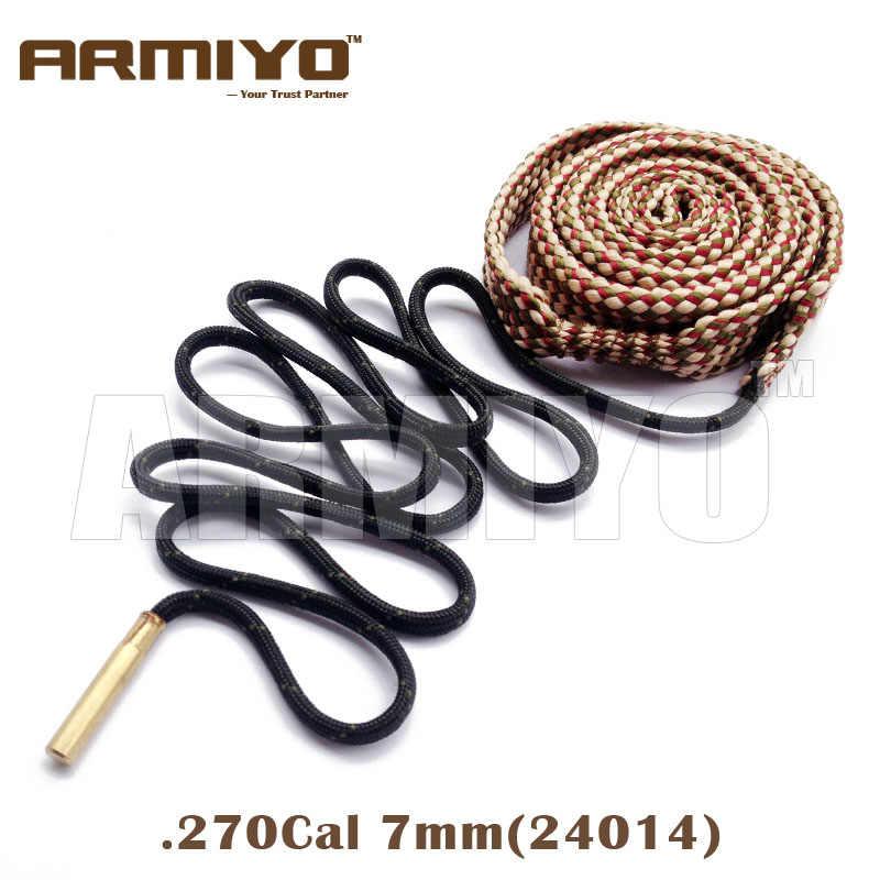 Armiyo Boring Snake. 270. 284. 280 Cal 7mm Gun Barrel Cleaner 24014 Rifle Cleaning Touw Sling Jacht Schieten Accessoires