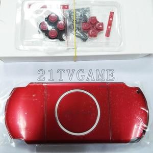 Image 4 - עבור PSP3000 PSP 3000 משחק קונסולת החלפת מלא שיכון מעטפת כיסוי מקרה עם כפתורי ערכה