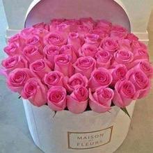 """Полная квадратная/круглая дрель 5D DIY Алмазная картина """"Розовые розы"""" 3D вышивка крестиком 5D Стразы домашний Декор подарок"""
