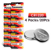 PANASONIC 20pc cr1220 3v button cell coin batteries for watch DL1220 BR1220 ECR1220 LM1220 KCR1220 KL1220