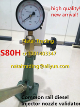 S80h diesel injector nozzle tester made of aluminium with big oil tank