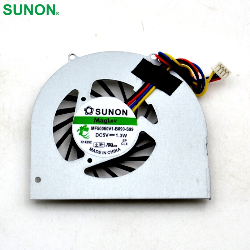 Free Shipping New CPU Cooling Fan For Q120 Q150 SUNON :MF50060V1-B090-S99 series laptop fan free shipping for sunon kde2406phs2 dc 24v 1 9w 2 wire 2 pin connector 60x60x15mm server square cooling fan