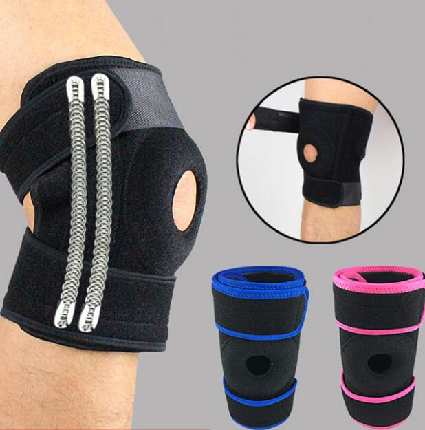 1pcs Support Sports Knee Pads Football Basketball Volleyball Leg Knee Support Brace Patella Guard Protector