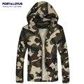 Port&Lotus Men Jacket CamouflageThin Fashion  Men Coats Veste Homme Jaqueta De Couro Masculina158 Casacos wholesale