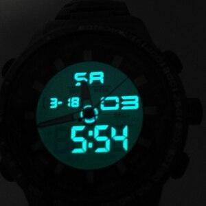 Image 2 - 2020 cyfrowy zegarek mężczyźni luksusowej marki MIZUMS mężczyźni Sport zegarki wodoodporny stalowo złoty zegarek kwarcowy męska wojskowy Relogio Masculino