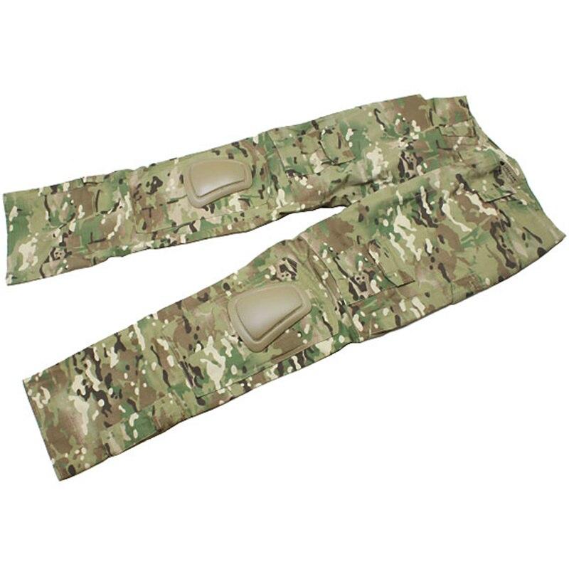 haoYK Pantaloni Militari Tattici Paintball BDU Pantaloni Camo Airsoft Pantaloni Multifunzione con Tamburo Multicam