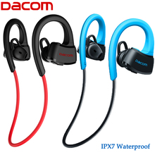 Nueva dacom p10 ipx7 impermeable auriculares bluetooth 4.1 auricular inalámbrico de auriculares bluetooth auriculares de oído armadura