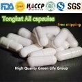Venta caliente 100 unidades 99% cápsulas de Extracto de Tongkat Ali/Tongkat Ali cápsulas GMP Factoría la oferta de Envío gratis