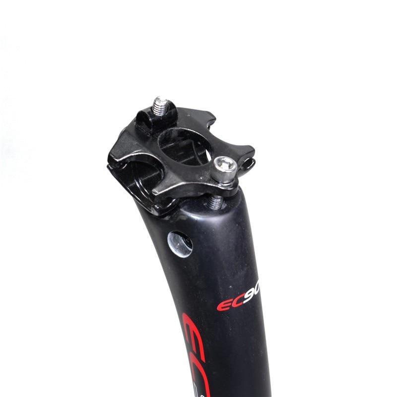 bicicleta estrada selim tubo do assento da haste de carbono selim tubo