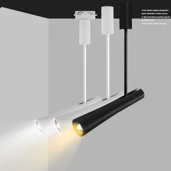 Dimbare 15 W CREE COB LED spoor licht LED rail lamp leds spots verlichting armatuur voor winkel winkel spot verlichting
