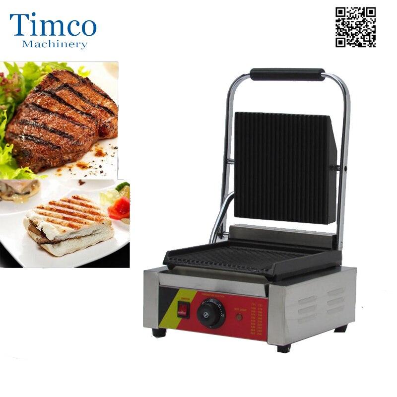Machine commerciale antiadhésive de Steak de presse de Sandwich de Machine de gril de Panini