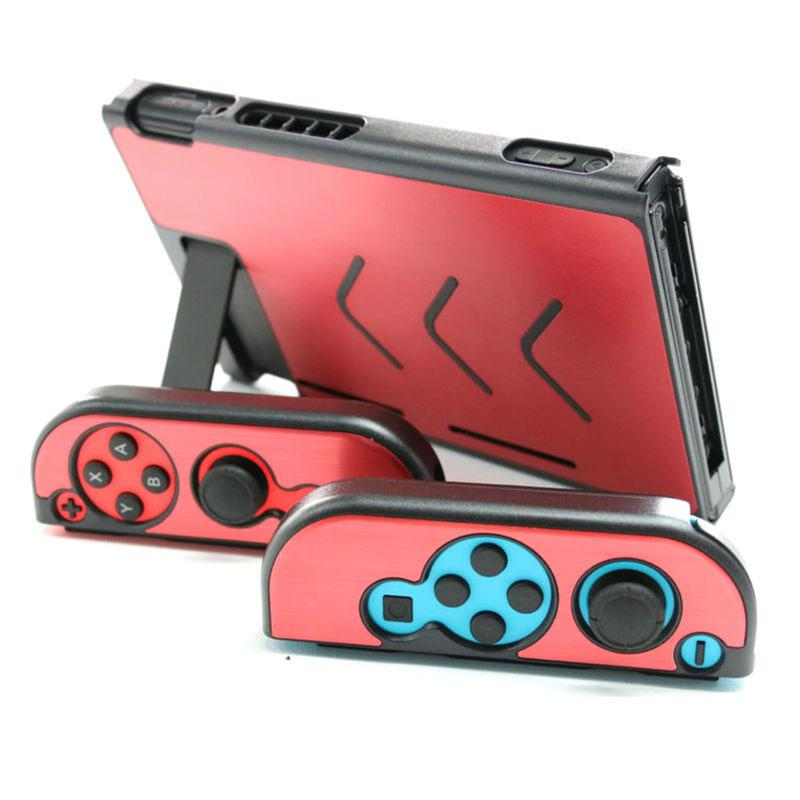 EastVita Aluminum Steel Protective Case For NS Game Console Protector Card Protective Hard Case Shell For Game Console Handles