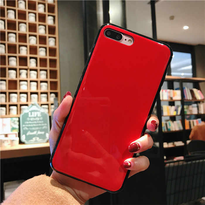 Black red shell baked paint case For OPPO A83 A79 A75 A73 F5 Youth F3 F1S  R15 R11 R11S Plus K1 R17 f9 Case For OPPO F7 realme 2