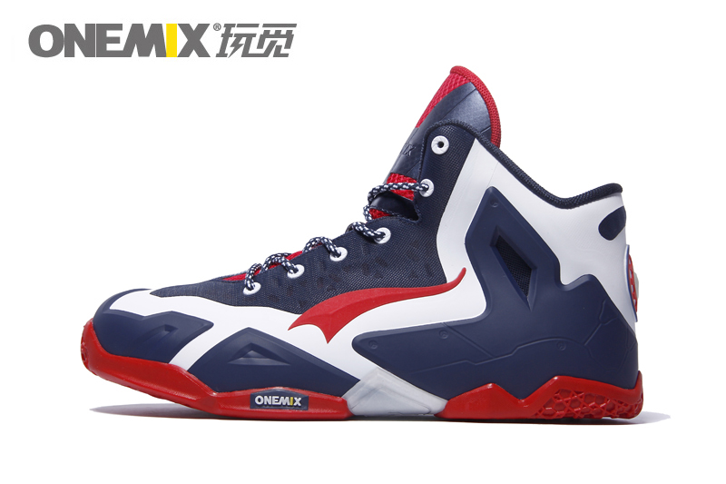 ONEMIX Powerful Original Quality Onemix Basketball Shoes Men Basket Home Authentic LB Mens Athletic Snekaer Size 39-46
