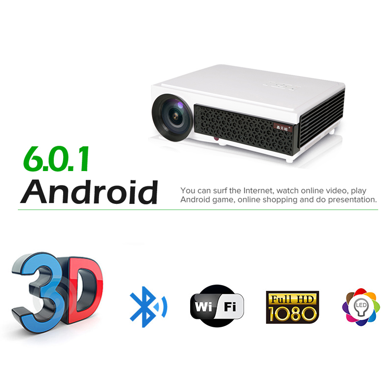 5500 Lumens Smart Lcd Tv Led Projector Full Hd Support: Aliexpress.com : Buy LED96 LCD Projector 5500 Lumens