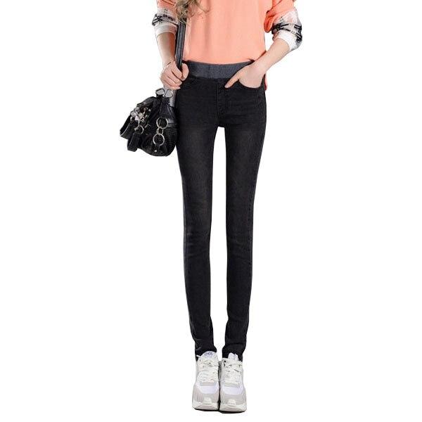 Gray Black Jeans