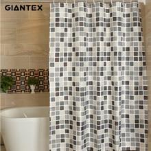GIANTEX плед полиэстер ванная комната водостойкие занавески для душа с пластик крючки U1269