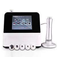 To treat ED Portable shock wave physiotherapy equipment Shockwave therapy Pain relief machine
