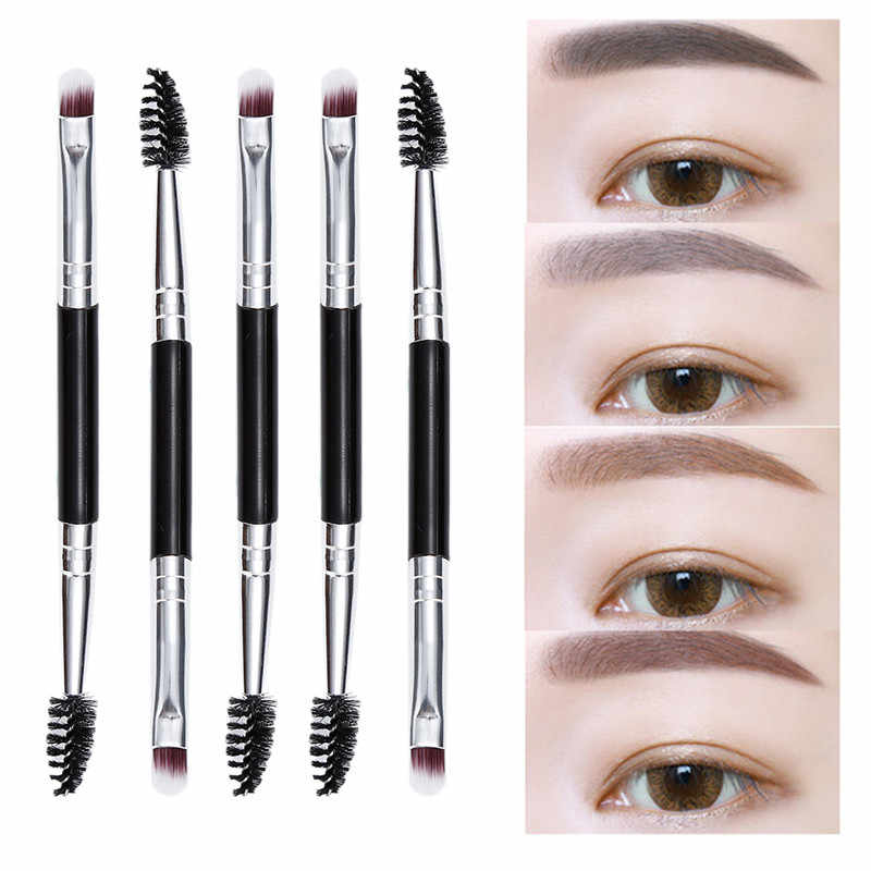 Eyebrow Waterproof Black with Eyebrow Brush Makeup Tools Hot Fashion Liner Cream Eye Definer Gel In Various Shade Double Sided