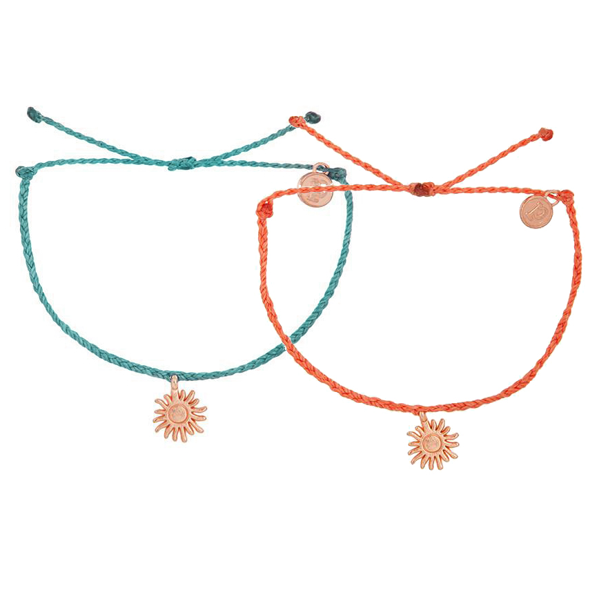 Pura Vida Wave String Bracelet Periwinkle WTKyNSDyk