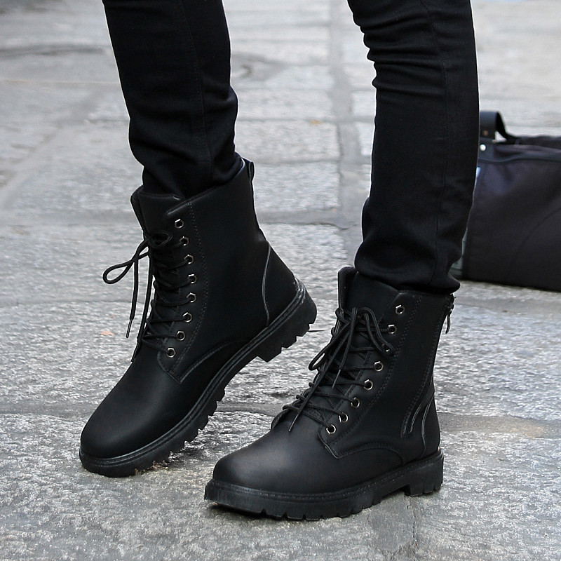 High Top Boots Mens - Yu Boots