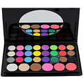 New Women Pro Cosmetic Makeup 30 Shiny Colors Include 24 Eyeshadow 3 Concealer 3 Flush Make Up With Mirror Quality Assurance